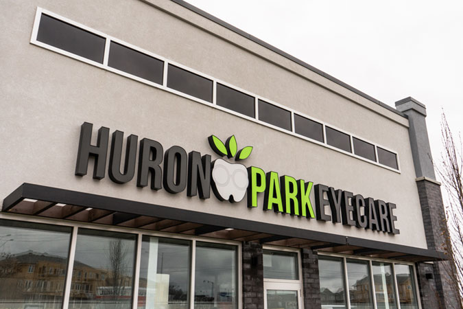 Huron Park Dental & Eyecare Building