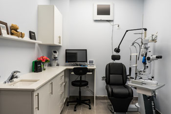 Optometry Exam Room
