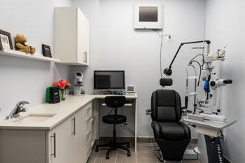 Optometry Exam Room