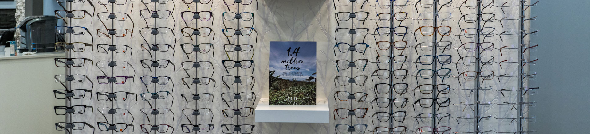 Eyecare - Glasses on Wall